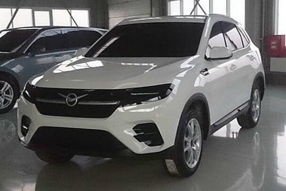 Новый УАЗ-3170 - опубликовано первое <b>фото</b> прототипа