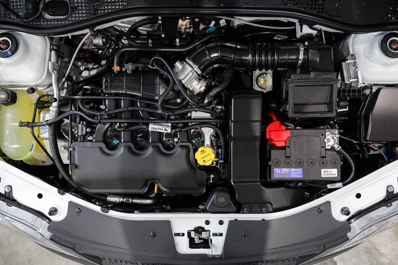 Ларгус двигатель фото